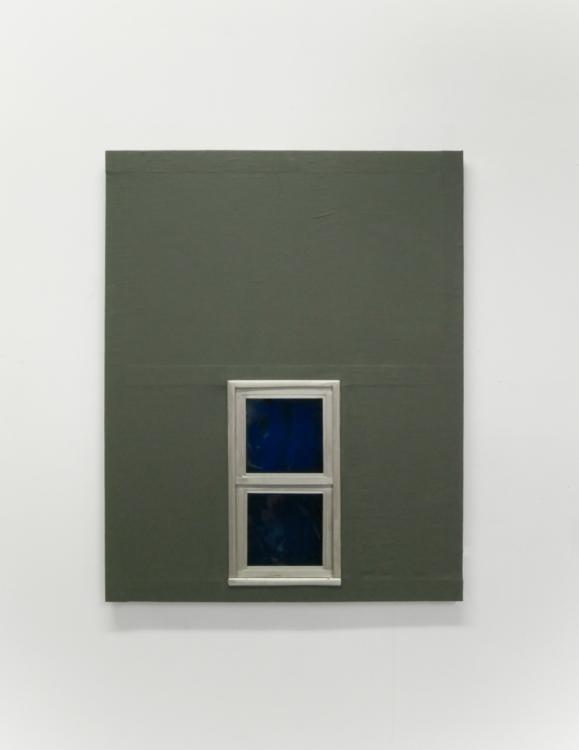 Fenêtre kaki — Charlotte Houette, Artiste