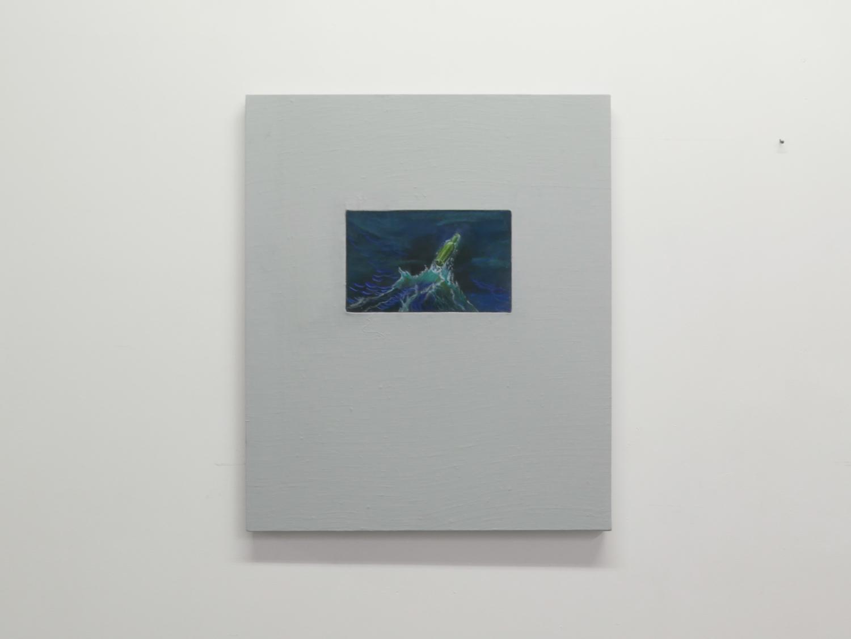Bouteille à la mer_bleue — Charlotte Houette, Artiste