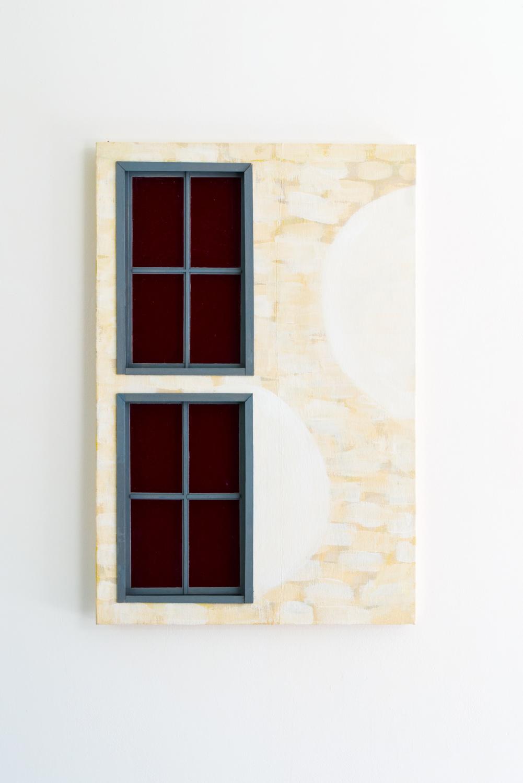 petit treignac double fenêtre — Charlotte Houette, Artiste