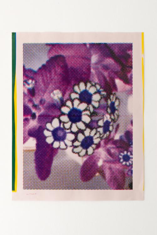 violette flower — Charlotte Houette, Artiste