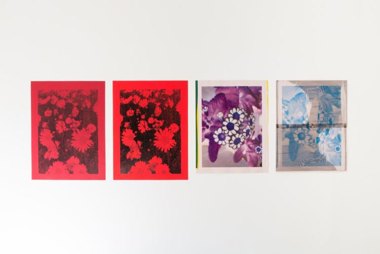 quatre posters — Charlotte Houette, Artiste