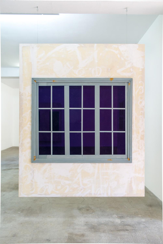 fenetre violette — Charlotte Houette, Artiste
