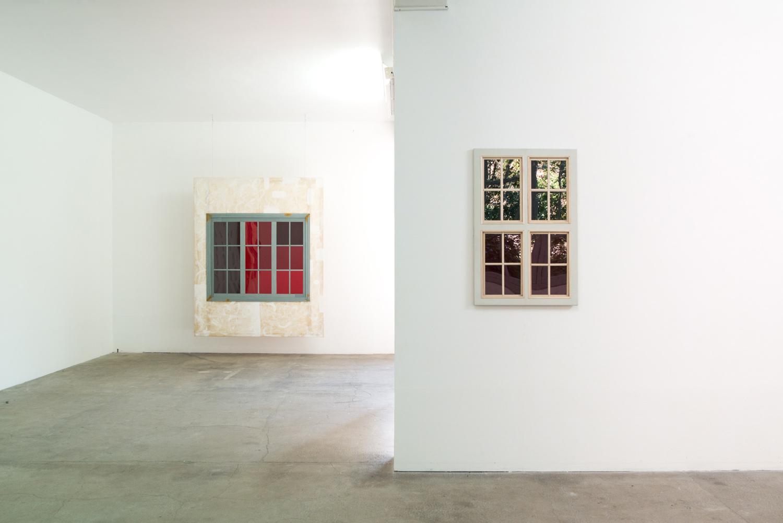 vue d'installation tableau — Charlotte Houette, Artiste