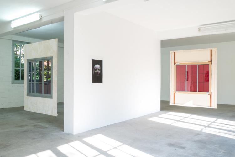 installation vu avec sophie — Charlotte Houette, Artiste