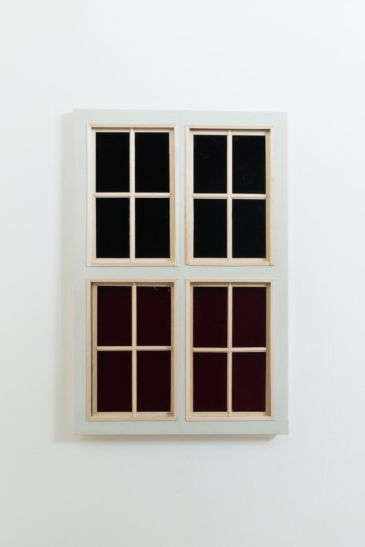quatre fenetres treignac — Charlotte Houette, Artiste